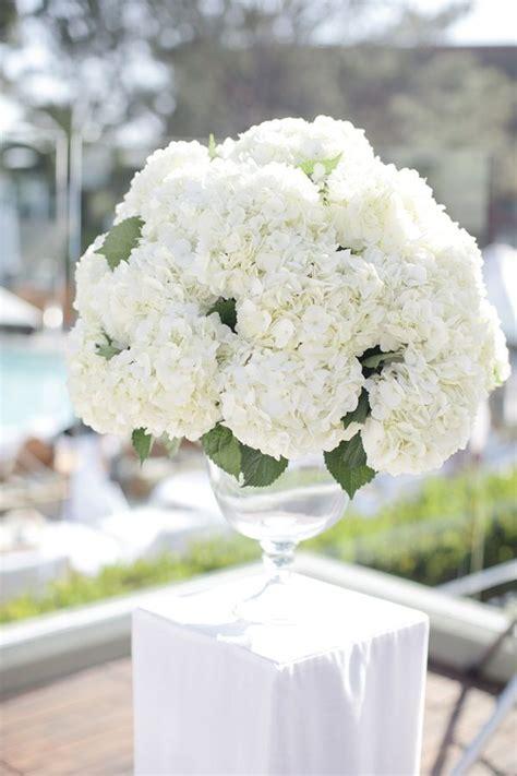 white centerpiece best 25 white hydrangea centerpieces ideas on