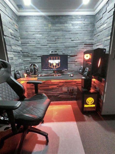 coolest bedroom design  gaming setup
