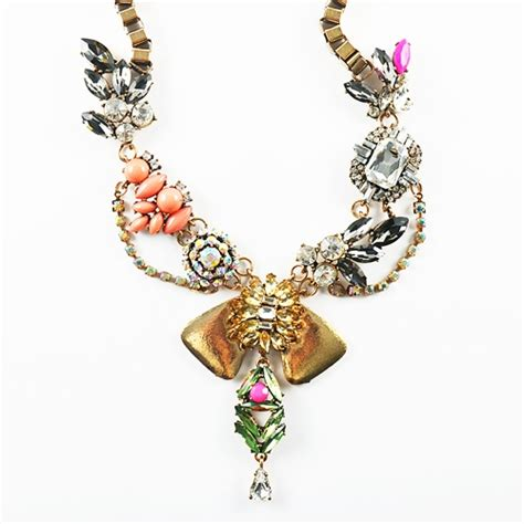 Collar Medley medley necklace bib necklace with various