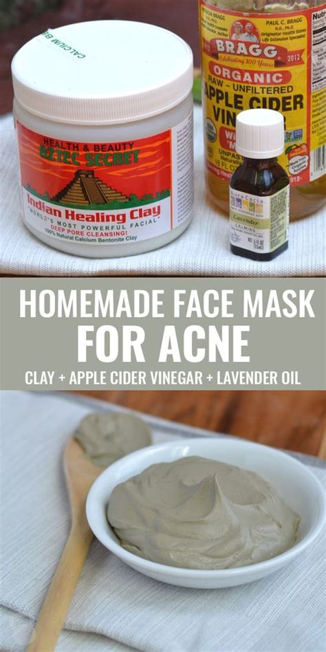 mask diy recipe mask for acne apple cider and