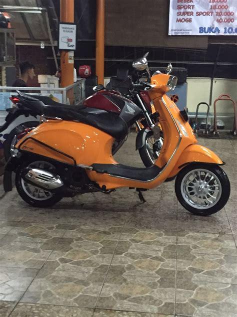 Aksesoris Vespa Rack Blkg 3in1 1 jual kredit vespa sprint 150 ie 3v orange jual motor piaggio jakarta selatan