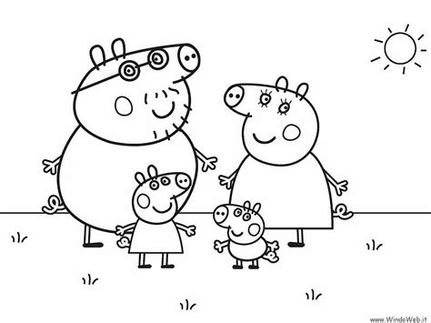 Printable Coloring Pages Peppa Pig | free coloring pages of peppa pig