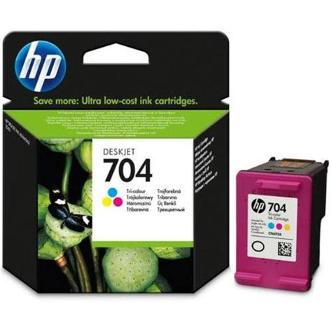 Cartridge Tinta Original Hp 704 Color Cn693aa deskjet 2060 200 pages mực in phun hp cn693a hp 704 color m 224 u