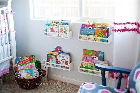 awesome kids book storage ideas organised pretty home
