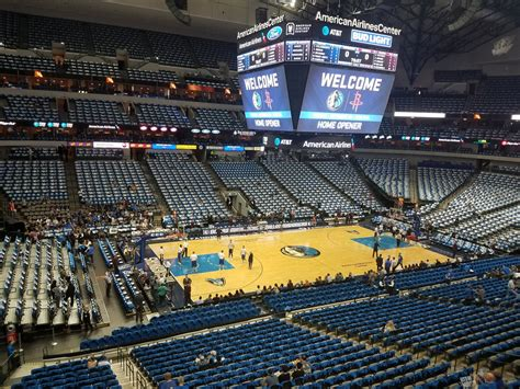section 212a american airlines center section 212 dallas mavericks