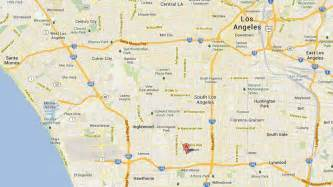Google Map Los Angeles by Google Los Angeles Map