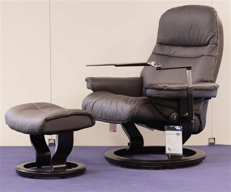 stressless sunrise recliner stressless sunrise paloma rock leather recliner chair by