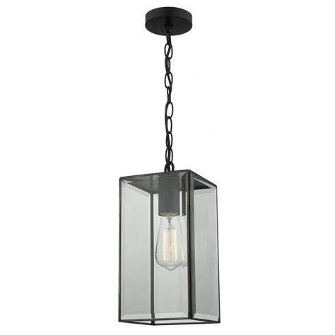 Industrial Black Box Lantern Ceiling Pendant Light Pendant Light Box