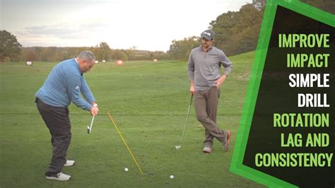 easy golf swing easy golf swing lag and impact drill