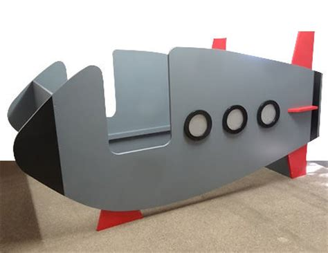 rocket or spaceship bed for boy