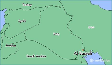 basra map iraq where is al basrah iraq al basrah basra governorate