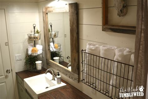 Pottery Barn Bathrooms Ideas Project Gallery The Pink Tumbleweed