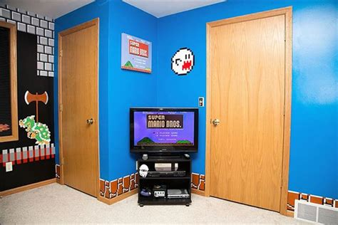 mario brothers bedroom super mario bros themed bedroom hiconsumption