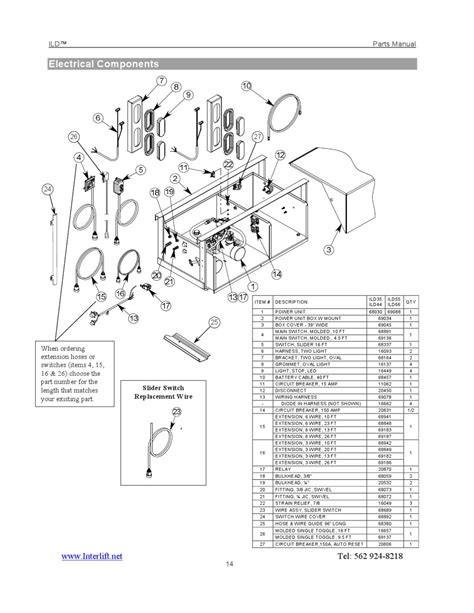 it 40 interlift liftgates wiring diagrams wiring diagram