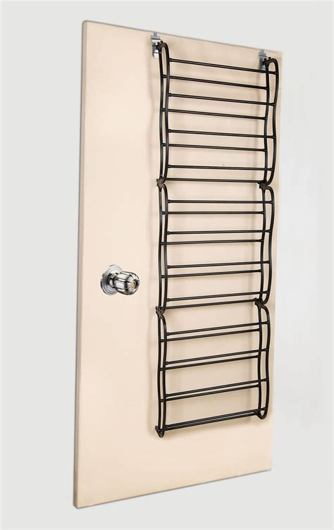 36 Pair Over The Door Hanging Shoe Rack Shelf Organizer | 36 pair over the door hanging shoe rack 12 tier shoe rack