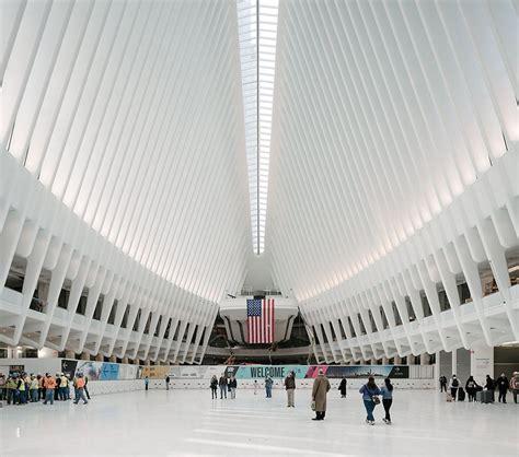 design center in nyc wtc transportation hub by santiago calatrava opens in new york