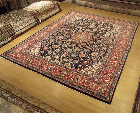 How Much Are Rugs by 9 X 12 Knotted Kashan Rug Soft Silky Kork Wool Great Condition Ebay
