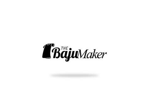 design logo baju online logo design the baju maker on behance
