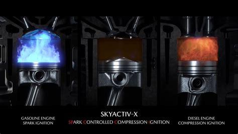 Skyactiv X by Mazda Skyactiv X Scci Engine Spark Controlled Compression