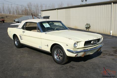 1966 mustang restoration 1966 ford mustang coupe restoration