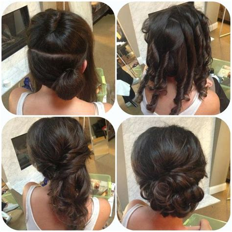 Wedding Hair Bun Tutorial by 26 Amazing Bun Updo Ideas For Medium Length Hair