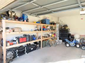 Garage Storage White Almost Wall To Wall Garage Storage Diy Projects