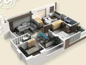 Superbe Plan Chambre A Coucher #3: plan-maison-appartement-une-piece-idees.jpg