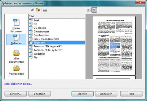 Cv Sjabloon Openoffice Templates In 505days Te Danke Aan Die Sjabloon