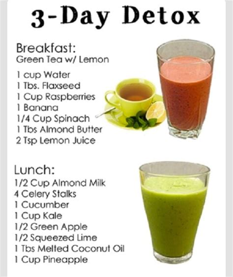 3 Day Cleanse Detox Diy by Musely