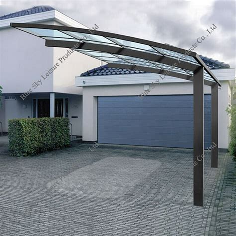 pergola glass roof metal and glass roofing pergola carport