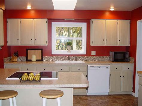 red kitchen with white cabinets red walls in kitchen yahoo image search results red