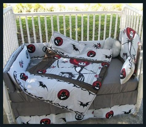 Nightmare Before Christmas Crib Set Christmas Decorating Nightmare Before Baby Crib Bedding