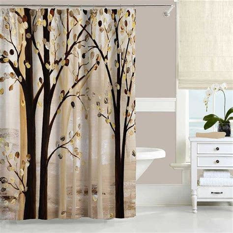 white and brown shower curtain best 25 brown shower curtains ideas on pinterest