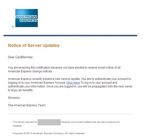Credit Card Update Letter Phishingpier New Server Credit Card Site Fraud