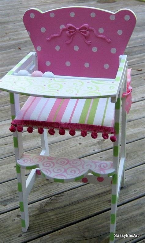 baby doll cradle and highchair woodworking projects plans