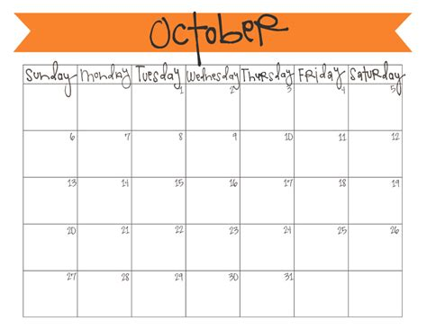 october 2013 calendar free printable live craft eat