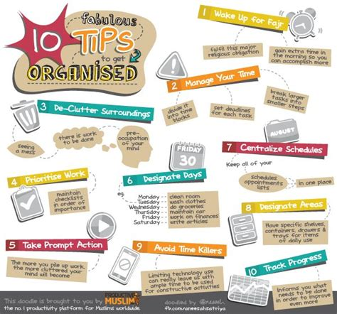doodle 4 tips doodle of the month ten fabulous tips to get organised