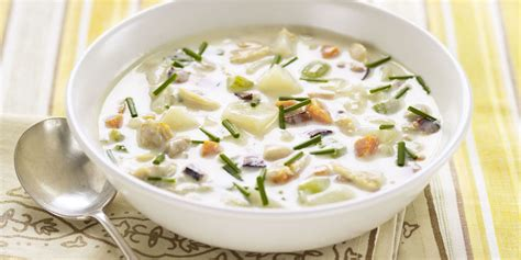 dinner soup recipes new clam chowder soup recipes