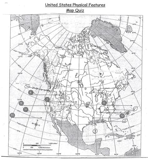 america geography map quiz physical map of america quiz my