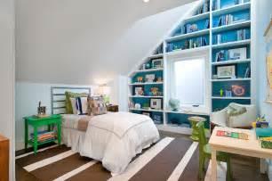 White Wicker Bookcase Living Room Sloped Ceiling Design Ideas