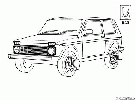 lada a scarica disegni da colorare big ford