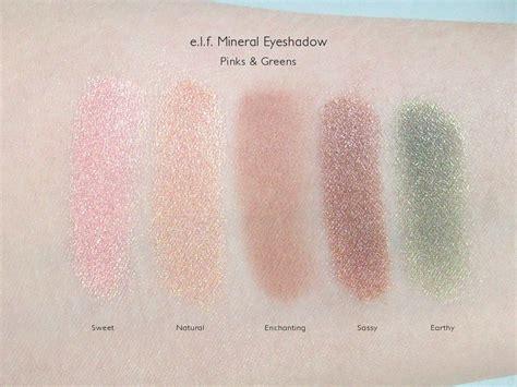 Eyeshadow E e l f mineral eyeshadow review dc makeupfu