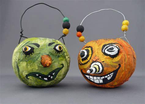 paper mache pumpkins make papier mache pumpkins dollar store crafts