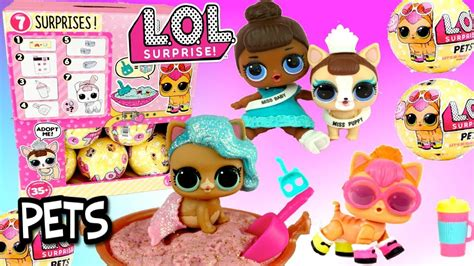 Lol L O L Pets D J K9 phim22 new lol pets series 3 ultra toys that spit and cry