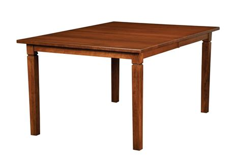 Handcrafted Dining Tables - amish handcrafted parkland rectangular dining table 36 quot width