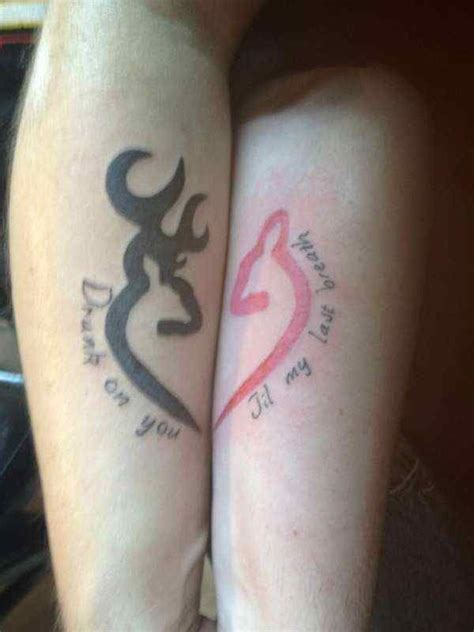 country couple matching tattoos 25 best ideas about tattoos on