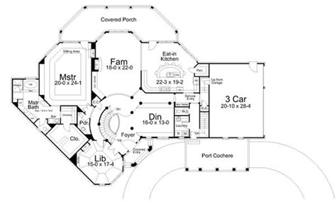 house plans with a view to the rear colonial house plan with 5 bedrooms and 3 5 baths plan 6155