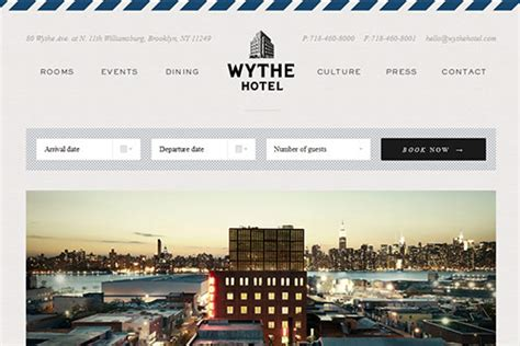 design inspiration hotel website 40 clean and minimal website design for your inspiration
