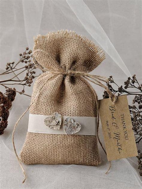 Wedding Favor Bags by Rustic Wedding Favor Bag Birch Bark Wedding Favor