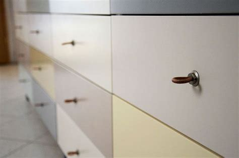 how to add leather pulls to the ikea brimnes ikea creating a colourful sideboard an ikea hack using hettich